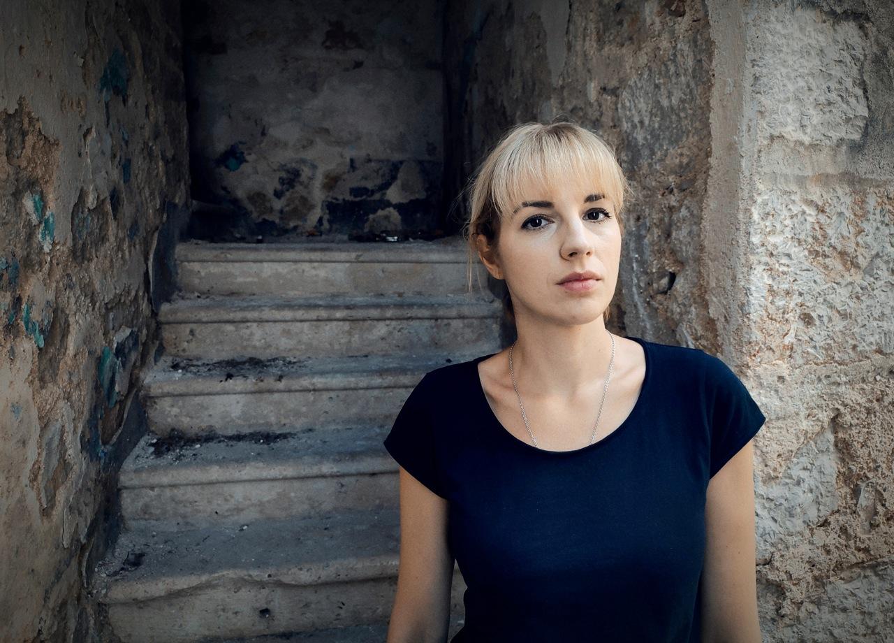 La regista croata Tiha K. Gudac