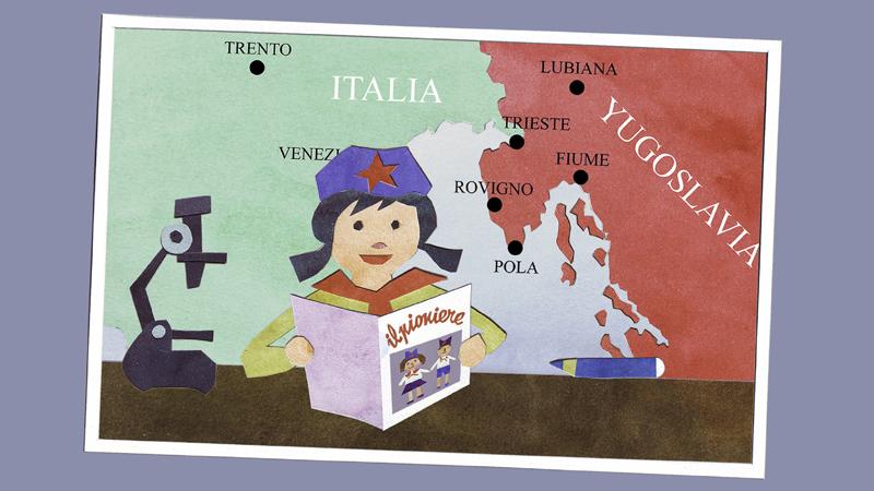 Vedo Rosso. Anni '70 tra storia e memoria degli italiani d'Istria