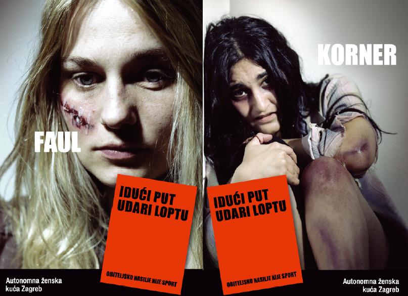 Campagna di sensibilizzazione contro la violenza domestica in Croazia