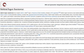 Pagina di wikipedia Croazia