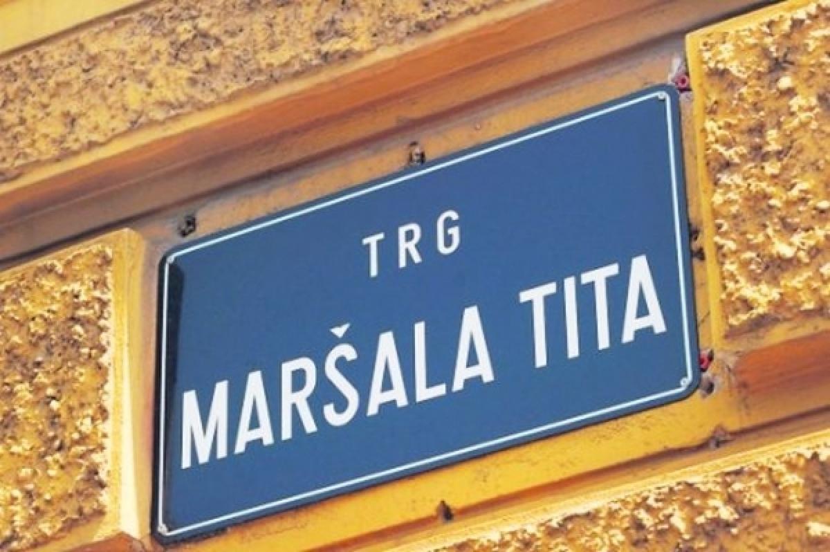 Piazza Tito a Zagabria