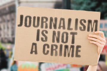 """""""Il giornalismo non è un crimine"""" - foto © AndriiKoval/Shutterstock"""