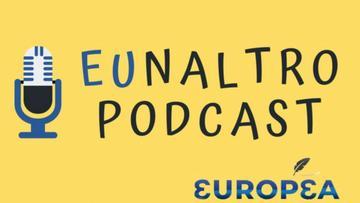 Il logo del podcast di Europea