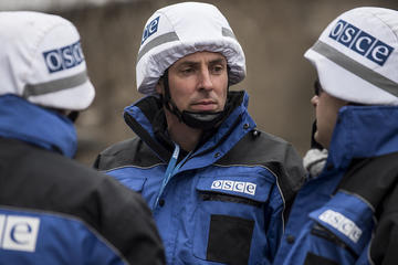 Missione OSCE di monitoraggio in Ucraina (foto Special Monitoring Mission to Ukraine)