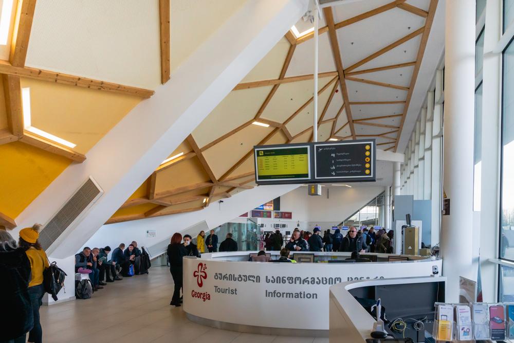 L'aeroporto di Kutaisi prima dello scoppio dell'epidemia di Covid 19 (© Uskarp/SHutterstock)