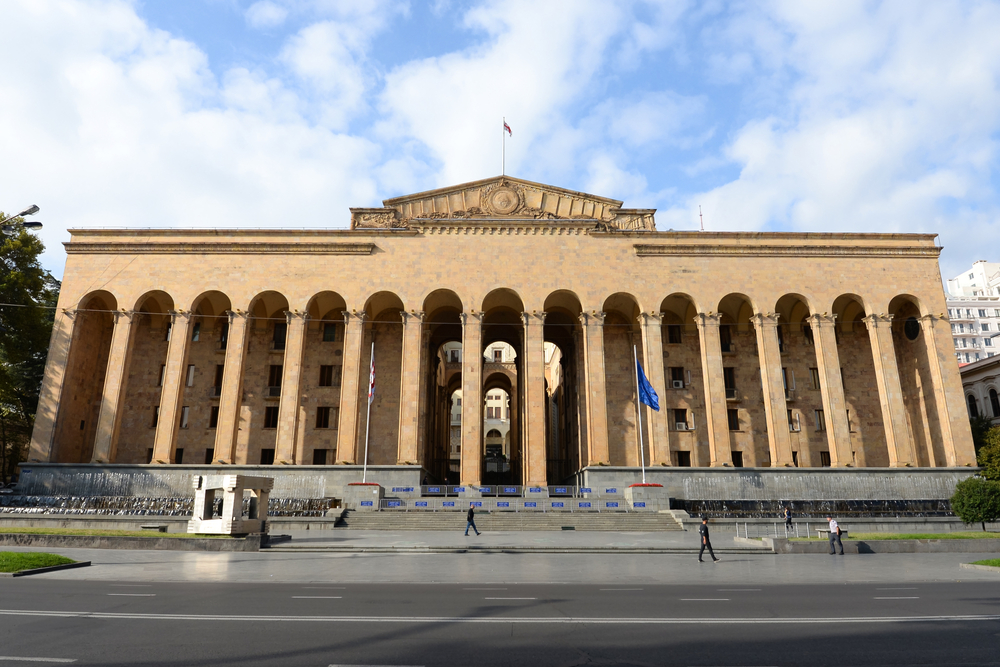 La sede del parlamento a Tbilisi (© Thiago B Trevisan/Shutterstock)
