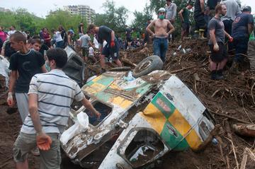 Danni dell'alluvione a Tbilisi (foto © Onnik James Krikorian)
