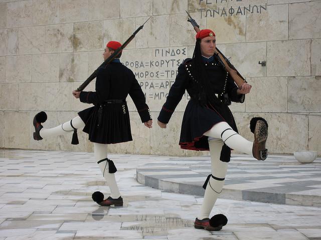 Davanti al Parlamento di Atene - Grecia