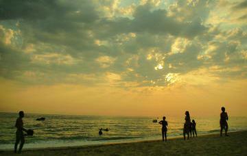 Sulla spiaggia di Vrahos a Preveza - Anta Z/flickr