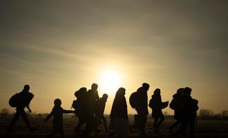 Migranti al confine tra Turchia e Grecia (Huseyin Aldemir/Shutterstock)