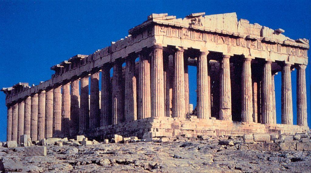 Athens, Parthenon (wikimedia)