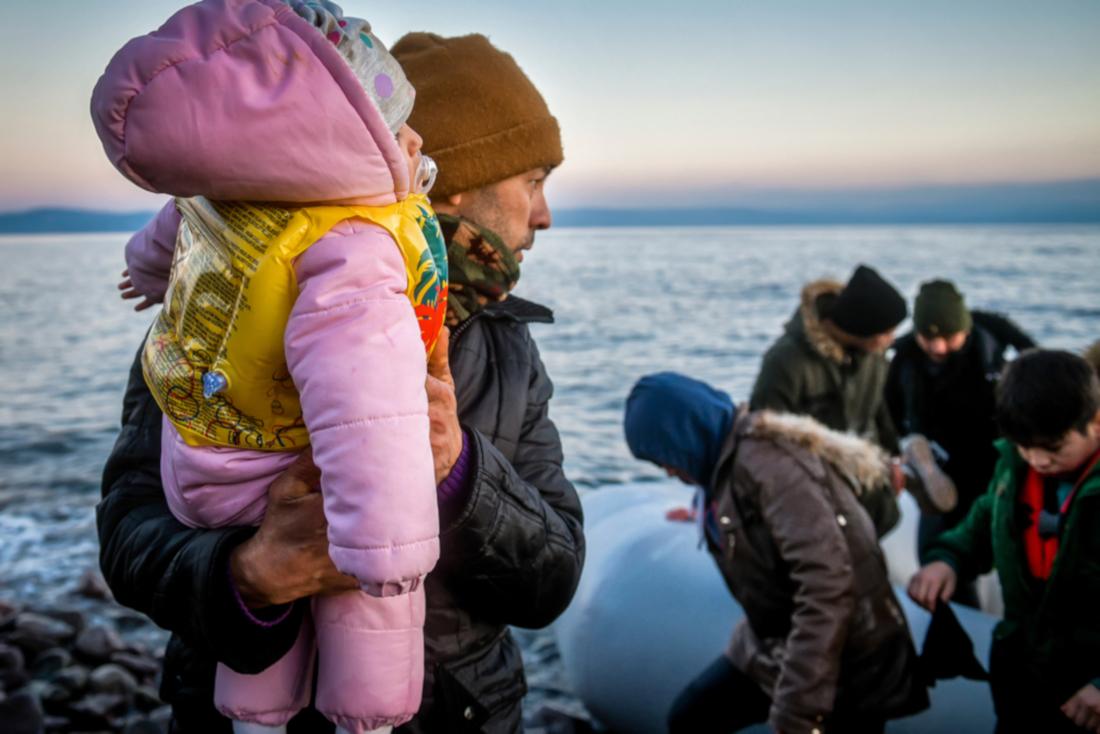 Lesbo, rifugiati arrivati dalla turchia - Foto di Ververidis Vasilis - Shutterstock