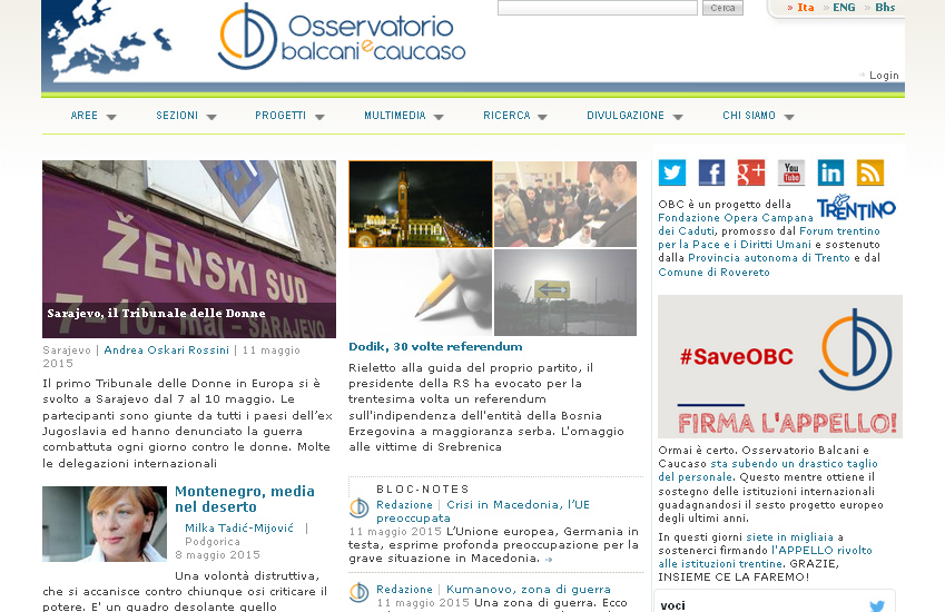 Osservatorio Balcani Caucaso