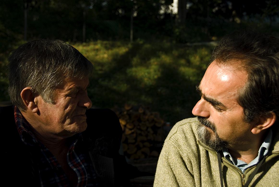 Gianni Belluscio, ritratto nel nord dell'Albania da Andrea Pandini
