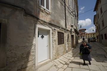 Centro storico di un borgo in Istria - foto Andrea Pandini