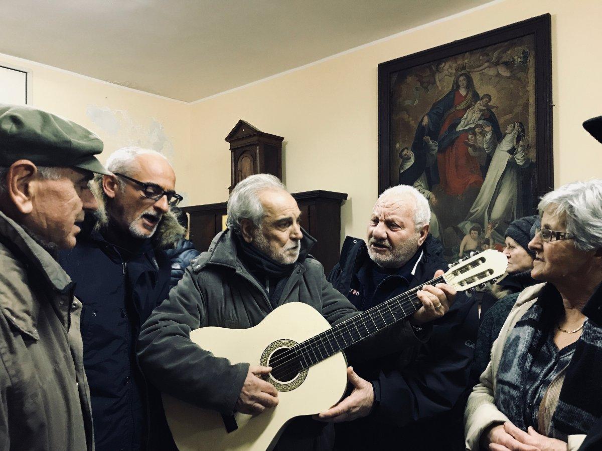 Alfio, Ines, Pino e il signor Sabato - foto di Maria Chiara Calvani