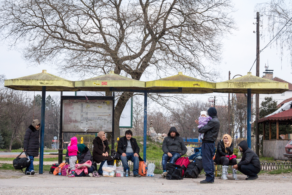 Migranti lungo la rotta balcanica, Serbia 2016