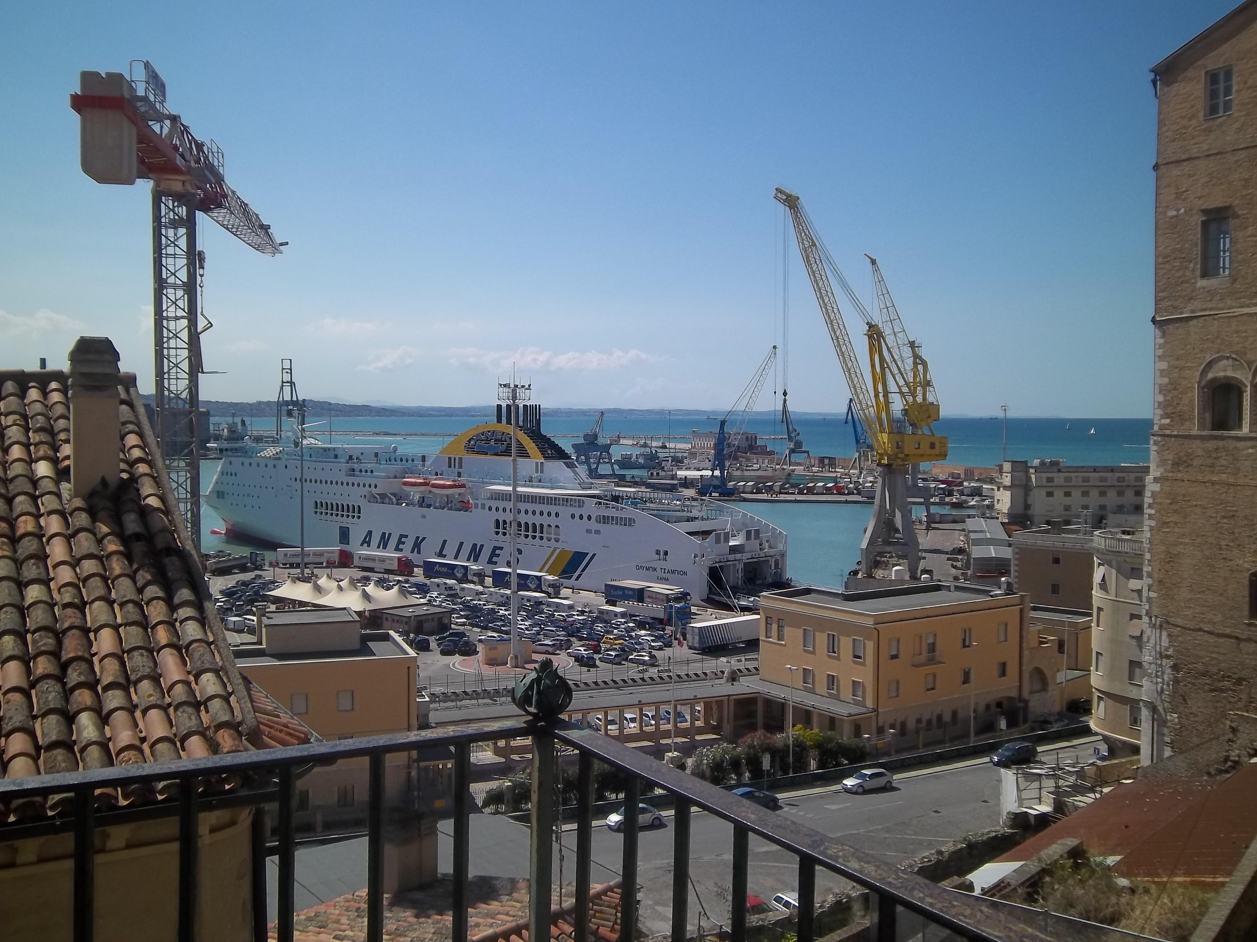Ancona's port, Italy - P. Martino