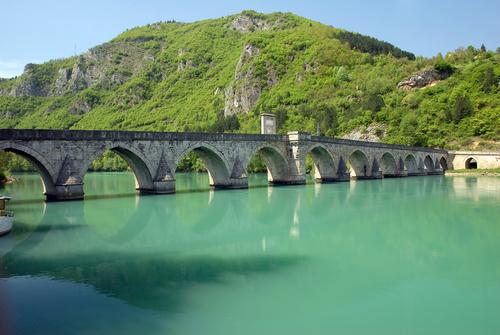Il ponte sulla Drina (Copyright Shutterstock)