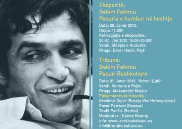 Flyer della mostra