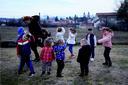 Outdoor activities in a Kosovo preschool (photo by Jeton Sopa)