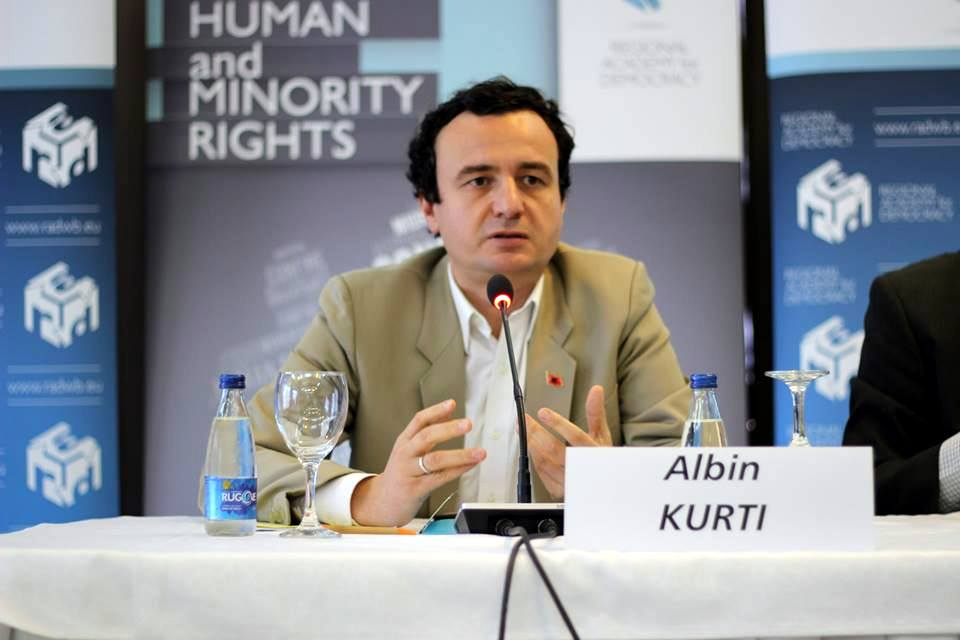 Albin Kurti  - Arianit/wikimedia CC 4.0 International