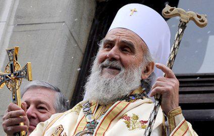 Il patriarca serbo Irinej