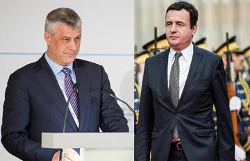 Hashim Thaçi e Albin Kurti (wikimedia)