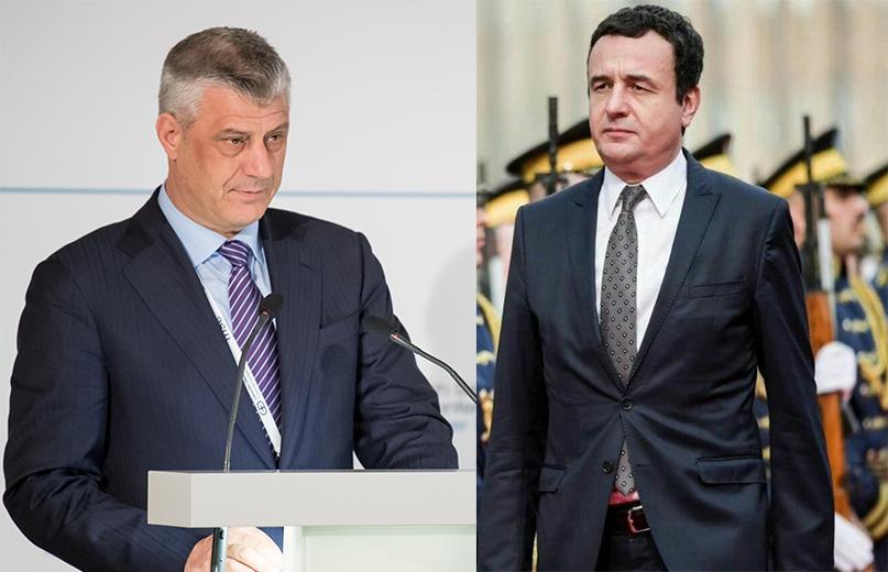 Hashim Thaçi and Albin Kurti (wikimedia)