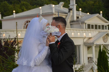 A marriage in Prizren, Kosovo, June 2019 (Shutterstock/MrDavle)