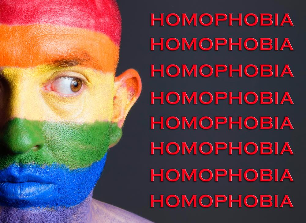 Homophobia - shutterstock
