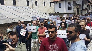 Manifestazione a Prizren - Kosovo 2.0