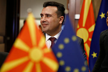 Zoran Zaev (Alexandros Michailidis/Shutterstock)