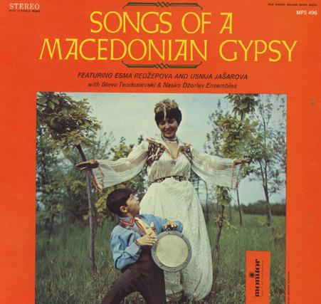 Esma Redžepova, copertina del disco Songs of Macedonian Gipsy