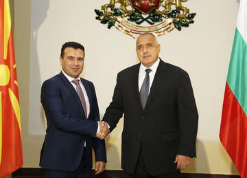Zoran Zaev e Boyko Borisov