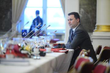 L'ex premier macedone Nikola Gruevski