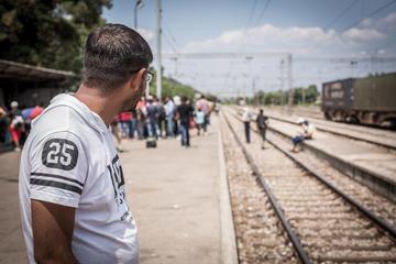Rifugiati a Gevgelija