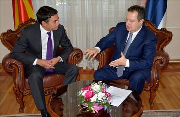 Incontro a Niš tra i ministri Dačić e Dimitrov