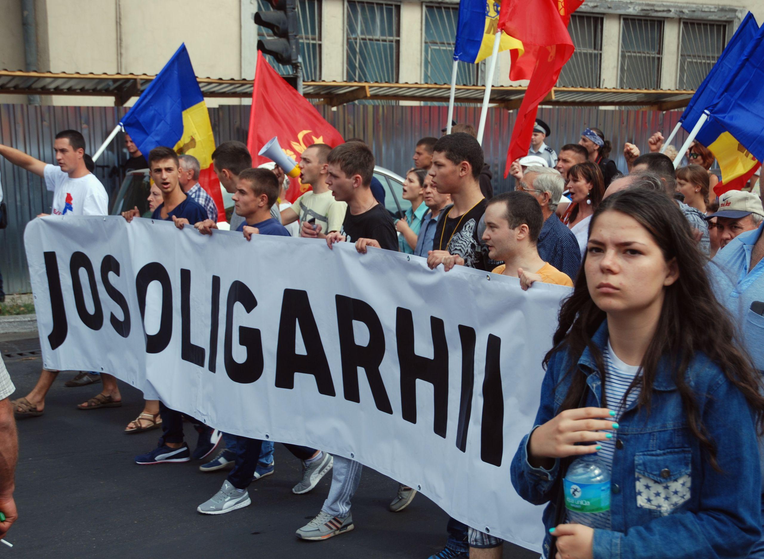 Proteste a Chișinău (Wikimedia)