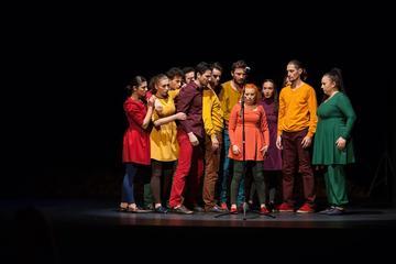 Violența, o istorie de dragoste, ph Teatrul Ionesco (per gentile concessione)