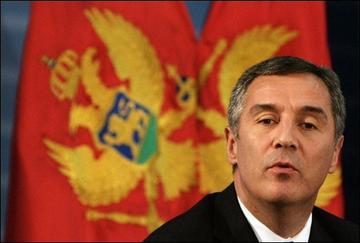 Milo Djukanovic, ex premier del Montenegro