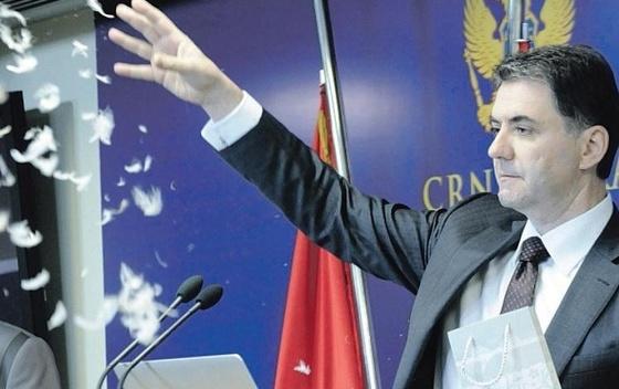 Ex ministro dell'Agricoltura Petar Ivanović (foto Vijesti)
