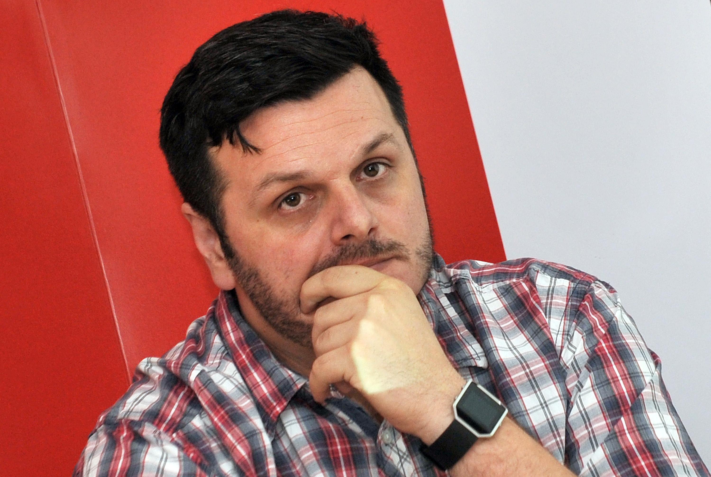 Dejan Milovac deputy director of MANS (photo Monitor)