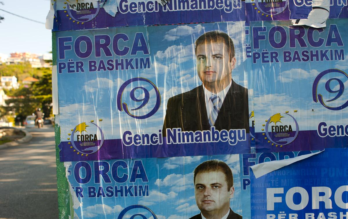 Genci Nimanbegu, cartelli elettorali