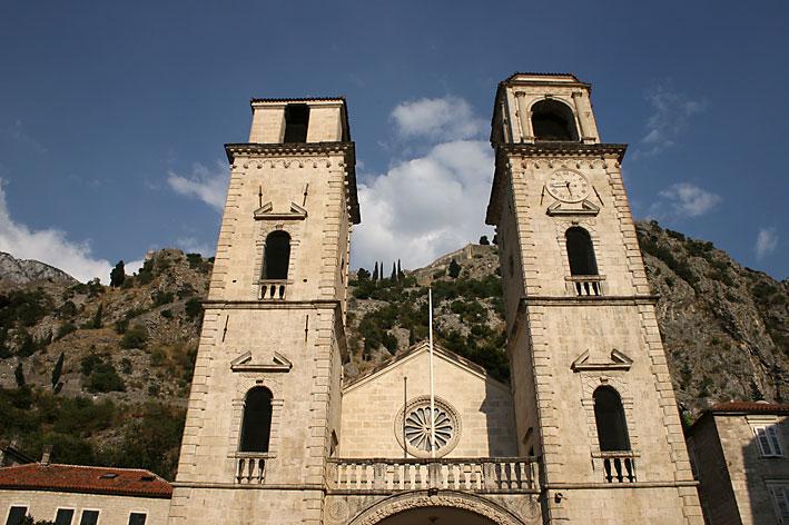 Kotor - La chiesa di Sveti Tripun (foto L. Zanoni)