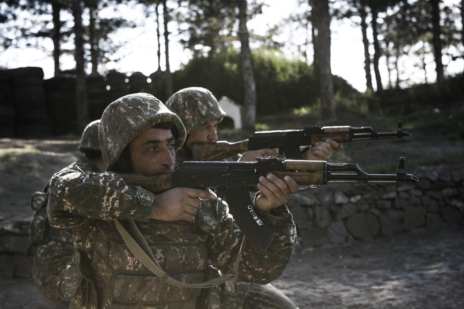 Along the contact line in Nagorno Karabakh (Angelo Emma)