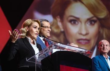 Outgoing mayor of Bucharest Gabriela Firea (©LCV/Shutterstock)