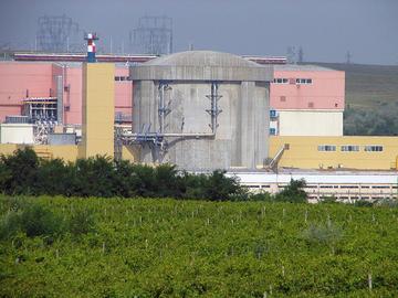 Centrale nucleare di Cernavodă, Romania (wikimedia)