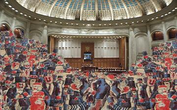 Romania il parlamento scoppia for Rassegna stampa parlamento