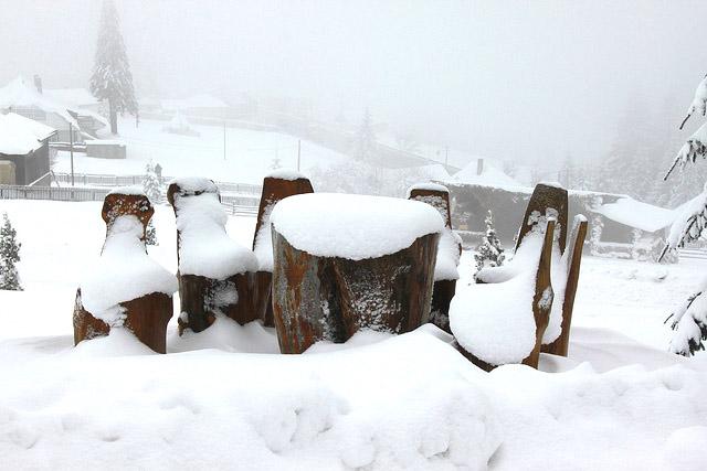 Romania sotto la neve